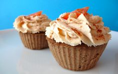 Carrot Cake Protein Muffins (Cow-Dairy and Gluten Free!)