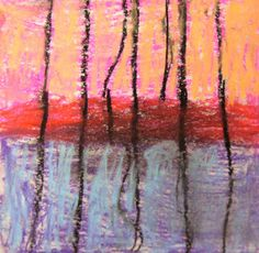 Experiments in Art Education: Wolf Kahn Landscapes
