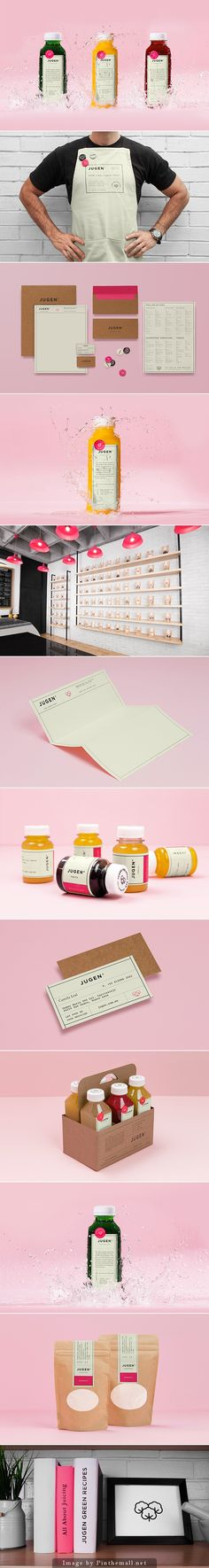 JUGEN health foods, fresh #packaging and #identity, by Anagrama PD