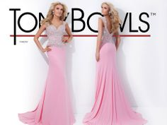 Long Pink Prom Gown