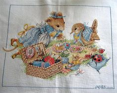Vera The Mouse Picnic by Cat Gabriel, via Flickr