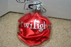 twilight christmas ornament