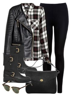 Style #9621 by vany-alvarado on Polyvore featuring Rails, H&M, Miss Selfridge, Mulberry, Mimi Berry and Ray-Ban