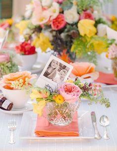 Ideia de decoração para o café da manhã ou almoço de Dia das Mães. #mothersday #diadasmães #mesaarrumada