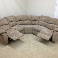 High Back Leather Corner Sofas