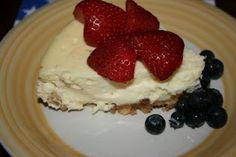 Cheesecake in the crock pot!