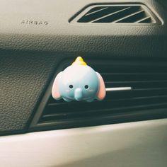 Dumbo - tsum tsum Handmade Car vent clip car air freshener car interior car accessory car fragrance (10.00 USD) by Aromadite