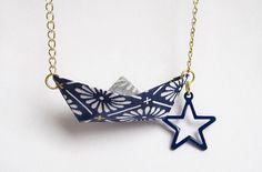 Bijoux en papier origami