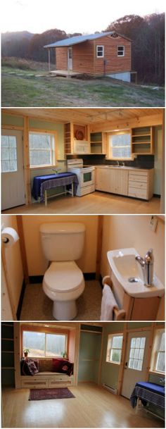 This 15' x 20' Cabin is Yahini's Largest Tiny House Yet - Yahini Homes is a tiny house manufacturer which specializes in really tiny homes. Most of their houses are no larger than 200 square feet, and some are quite a bit smaller than that. At 300 square feet, this tiny cabin is the biggest space that the architect has constructed to date (at least judging by the projects posted on the site).