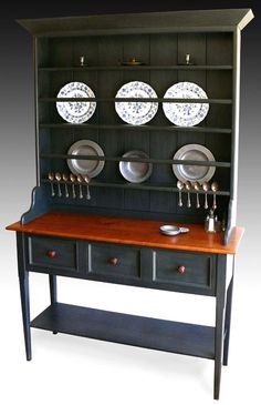 Shaker Furniture to Fit - display hutch