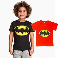 Children T Shirt Batman Cotton Short Sleeve Batman T Shirt, Batman Logo, Women's Fashion Dresses, Fashion Clothes, Ali Express, Cotton Shorts, Kind Mode, Boy Outfits, Tees