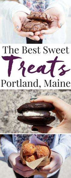 Spending some time in Portland, Maine? Don't miss out on all these sweet stops while you're there! We've gathered up the best desserts in the Old Port for you to indulge in! #PEPCID #PEPCIDTastemakers #ad