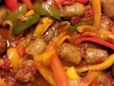 """Sausage and Peppers - voted the BEST - """"had to make this again.. it was so good"""" @allthecooks #recipe"""