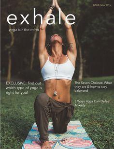 Exhale Yoga Magazine on Behance