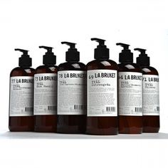L:A Bruket Cedar, Orange and Rosemary Liquid Soap www.coclea.cz