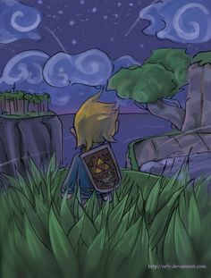 Link - Night of freedom by Zefy on deviantART