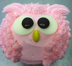 Owl cupcake frosting.. so cute! I freaking love owls. I must try this!!