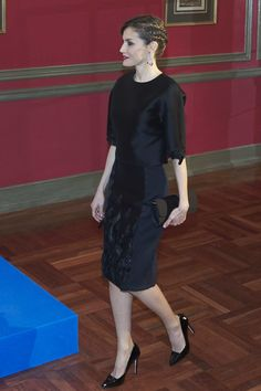 Queen Letizia of Spain Photos Photos - Queen Letizia of Spain attends the Expansion newspaper 30th anniversary at the Palace Hotel on February 7, 2017 in Madrid, Spain. - Spanish Royals Attend Expansion Newspaper 30th Anniversary