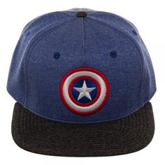 Captain America Two-Tone Cationic Snapback Cap