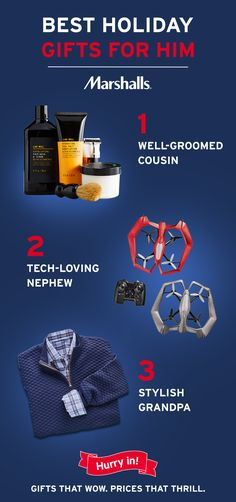 Head To Marshalls This Holiday Find Gifts That Wow At Prices Thrill Every Hard Shop For Guy On Your List Will Love