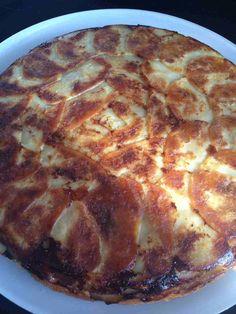 Une nouvelle recette faite avec mon nouveau moule à tarte tatin de mon partenaire Suner GIF ! Une recette salées à base de pomme de terre . Pour 8 pers 3 pp / pers (weight watchers) - 600 g de pomme de terre épluchées - 200 g de de champignons de Paris...