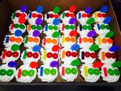 100 Day of School Cupcakes