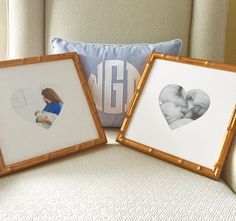 Can't wait to hang these adorable @framebridge heartstagrams of our new little family in our office! These would make the best Valentine's surprises for your love - order @framebridge with promo code classicbride15 and save 15%! #sponsored