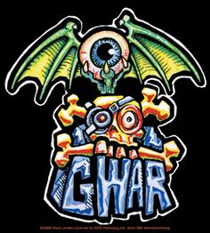 GWAR Logo.  Some day I want a tattoo of this.