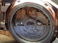 Seiko Men's Japanese-Automatic Watch with Stainless-Steel Strap, Silver, 20 (Model: Seiko Men, Japan, Beautiful Watches, Automatic Watch, Cool Watches, Autos, Japanese Dishes