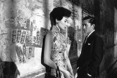 "Maggie Cheung and Tony Leung's characters in Wong Kar-Wai's ""In The Mood for Love"""