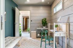 Tee itse rinteen kiveys | Meillä kotona Divider, Room, Furniture, Home Decor, Bedroom, Decoration Home, Room Decor, Rooms, Home Furnishings