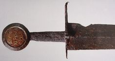 Late medieval arming sword.