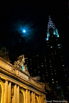 Grand Central Station & Chrysler Building, NYC, New York  by sonofvinland