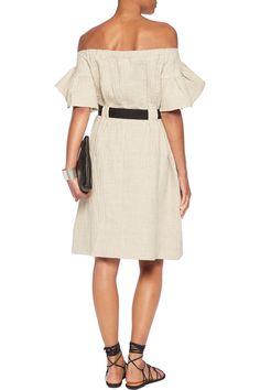 Goen.j Woman Printed Silk-satin Maxi Dress Green Size S GOEN.J Qwm1Fga