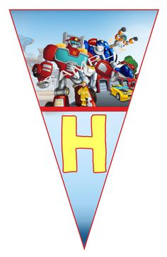 Transformers Rescue Bots Digital Birthday Party by KlaraOzmen Happy Birthday Parties, Birthday Party Decorations, 5th Birthday, Rescue Bots Birthday, Transformers Birthday Parties, Transformer Birthday, Diy Banner, Party Printables, Party Time