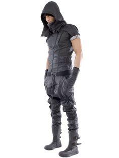 Demobaza Craft Heavy Cotton Jersey Jumpsuit in Gray for Men (DARK GREY)