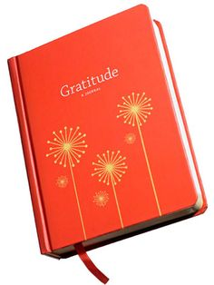 Gratitude Journal, $15 - makes a great stocking stuffer