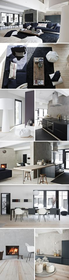 A Finnish Home With Nature At The Heart My Scandinavian Home Bloglovin Homes Pinterest Produc Parsonage And Textured Walls