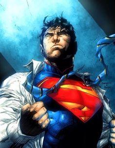 Superman by Jim Lee.