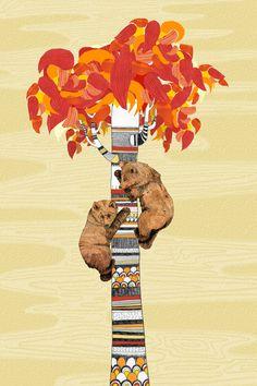 Sandra Diekman // Animalarium: Seasons of the Bear