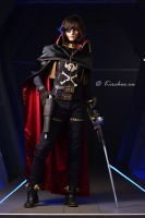 Captain Harlock cosplay by Valara Atran (WhiteDemon19)