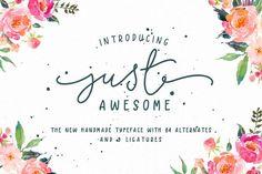 Just Awesome Typeface+Bonus - Script