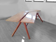 Mesa Sign B by objeto(A)TIPO Drafting Desk, Furniture, Home Decor, Furniture Design, Mesas, Homemade Home Decor, Home Furnishings, Decoration Home, Arredamento