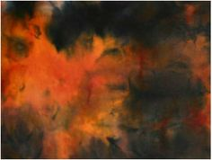 Charcoal,Fire Red and Orange - Charcoal, Ice, Orange, Painting, Painting Art, Paintings, Ice Cream, Painted Canvas, Drawings