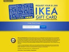 Ikea Gift Card http://cpaempire.moremoneyeverywhere.com/
