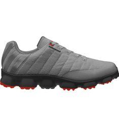 adidas Men's Crossflex Golf Shoe - Iron/Black/Ruby