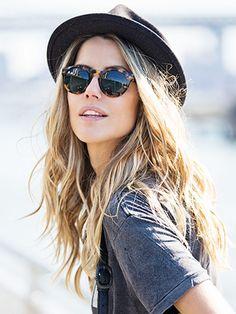 #hair #sunglasses #hat