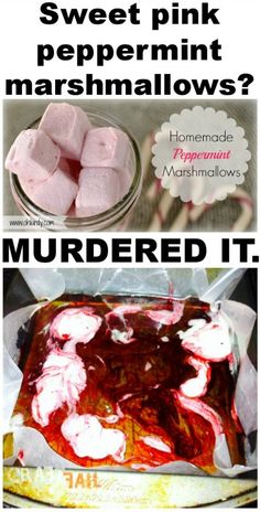 peppermint marshmallows NAILED IT