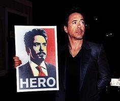 Robert Downey Jr being Robert Downey Jr