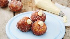 Vaniljeruter - Oppskrift fra TINE Kjøkken Doughnut, Baked Potato, Donuts, Tin, Muffin, Food And Drink, Meat, Baking, Breakfast